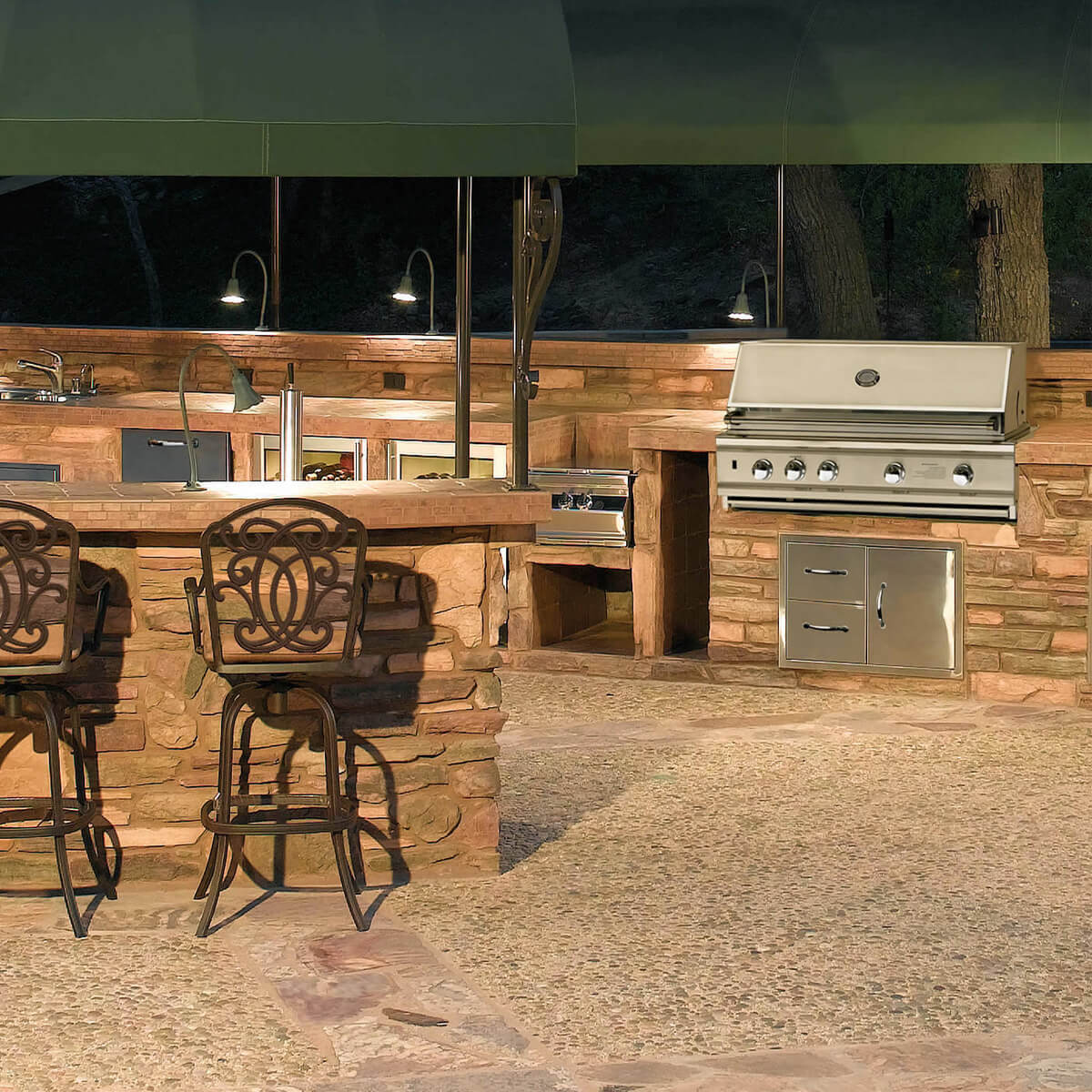 Custom Outdoor Kitchen Design Manufacturing Las Vegas Nevada Bbq Concepts
