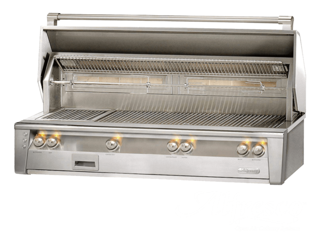 Alfresco ALXE 56 Inch Built-In Barbecue Grill